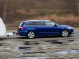 The AWD technology adds weight, so as tested, this model has an 85% match figure of 1448kg, making it a match for a range of new and used caravans