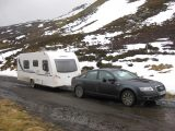 Sammy Faircloth gives tips on family skiiing holidays in Scotland with the caravan