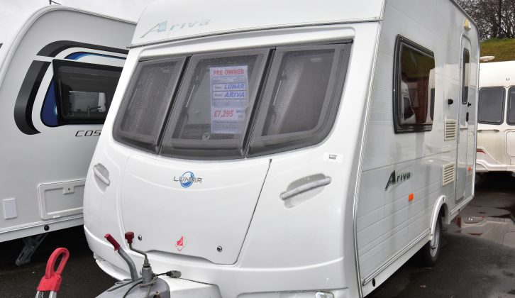 Lightweight vans are always in demand on the used caravan market – and the Lunar Ariva is a real star of the genre