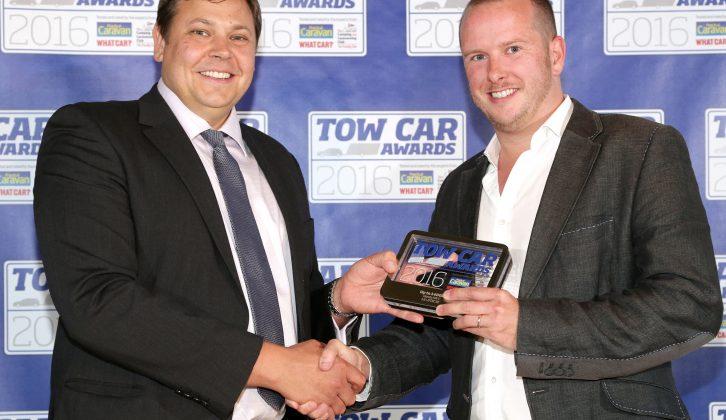 Honda's Simon Branney collected the HR-V's accolade