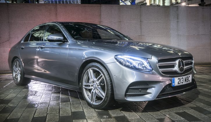 The E220d we tested has a kerbweight of 1680kg, an 85% match figure of 1428kg and a 2100kg legal towing limit