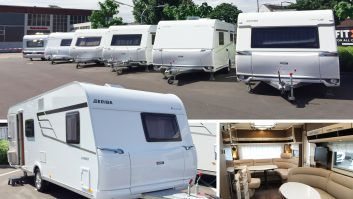 Get inside the latest 2017-season caravans for sale from Hymer and Eriba