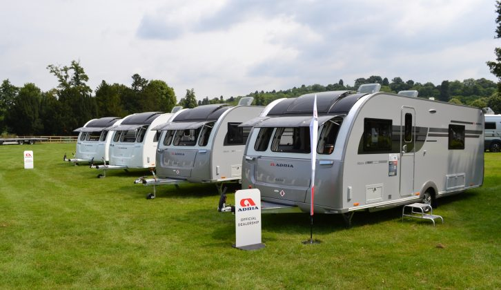 The other Platinum Collection van is the 613DT Isonzo – its Silver Collection predecessor was a big success