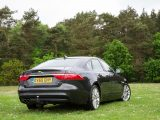 Rear-wheel-drive four-doors aren't obvious tow cars, but we think the Jaguar XF is one of the best
