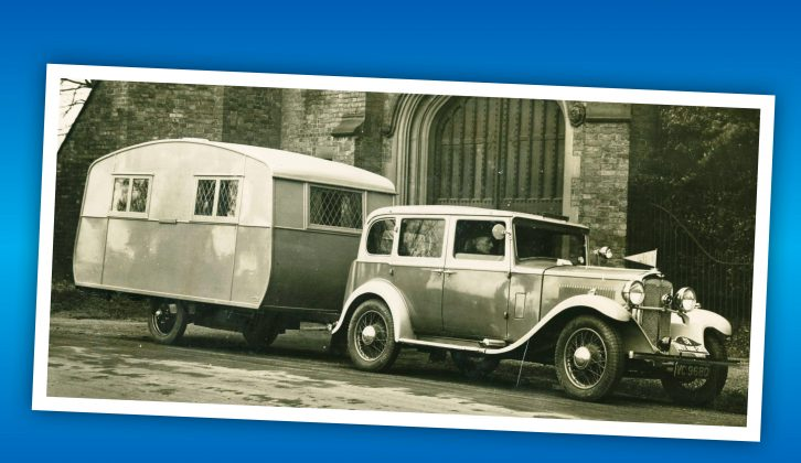 In the early days of touring, van owners were wealthy and the hitches were pin-couplings – read on to find out more!