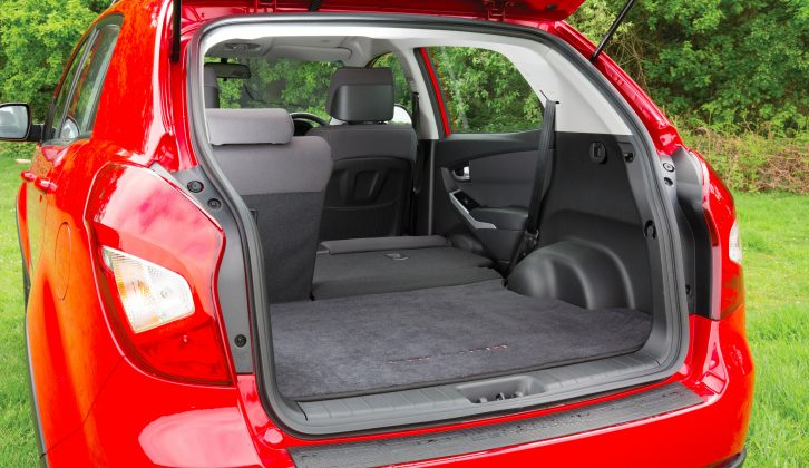 The maximum boot capacity is 1312 litres, with a 168cm-long boot floor