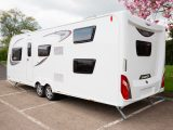 Windows are plentiful but some exterior storage would be welcome on the 2017 Elddis Avanté 866