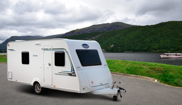 The Caravelair Antarès 455 sleeps up to four people