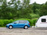 The latest VW Touran also gets put through its paces