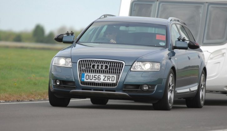 The Audi A6 Allroad has a 1880kg kerbweight and could now cost under £8000