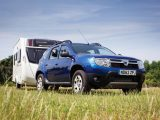 The Dacia was named Best Budget 4x4 at Practical Caravan's Tow Car Awards in 2013