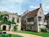 Scenic Scotney Castle is one of the stops on the cycling tour of Kent you can read about in our January 2017 magazine