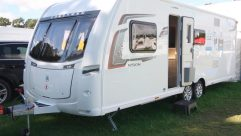 The twin-axle Coachman Vision 630 is new for 2017 and has an MTPLM of 1669kg
