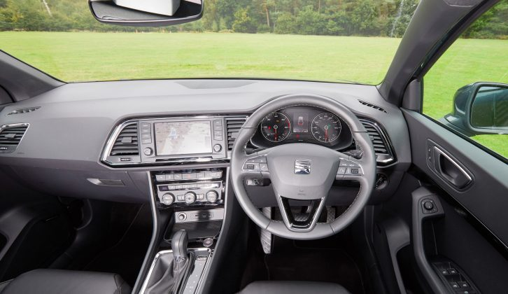 Seat Drive Profile allows the driver to choose different settings for the steering, engine and gearbox