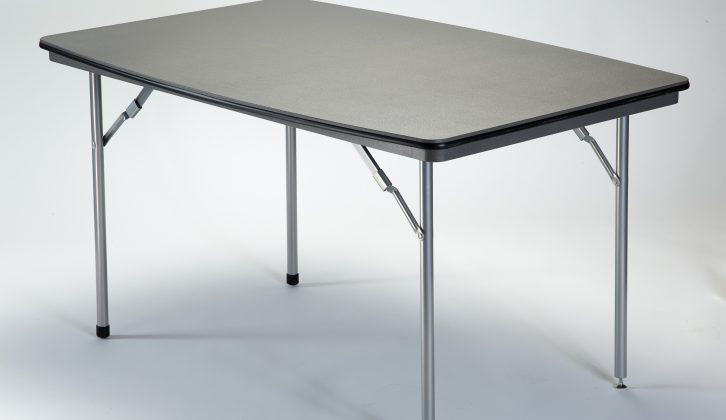Rectangular and circular fold-away tables are available, in a range of sizes