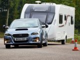With an 85% match figure of 1321kg, the Subaru Levorg is a sensible match for a good number of caravans