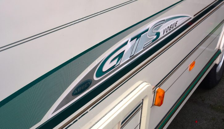 Checked used Abbey caravans for sale for kerbed alloys, panel fade and any signs of warping