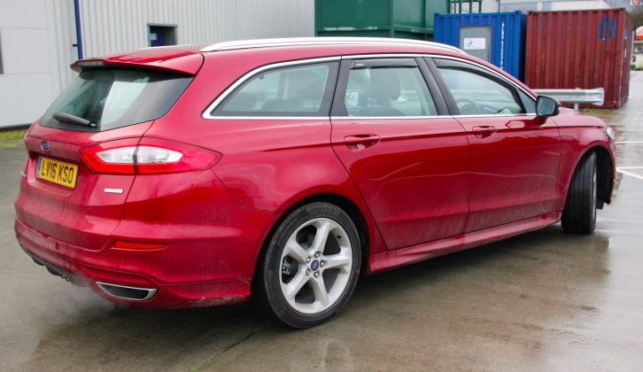 Our test Ford Mondeo (now ready for a wash!)