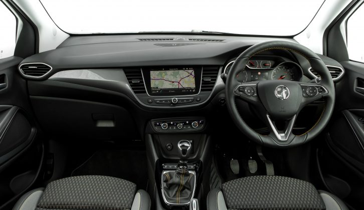 Dual-zone climate control, a seven-inch touchscreen, a cruise control function and in-car wi-fi are all fitted as standard