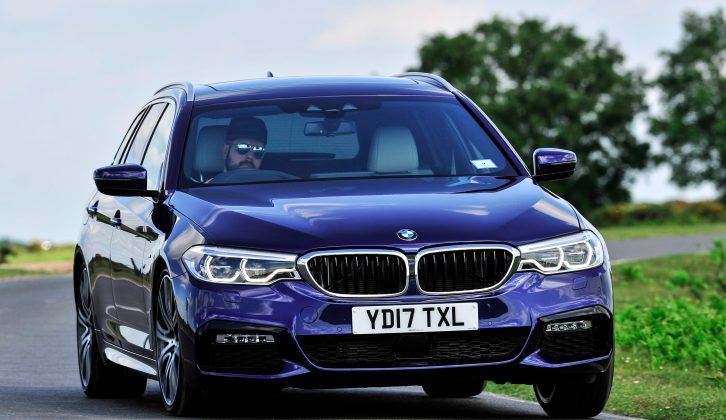 The BMW 5 Series Touring is priced from £38,075, making it one of the most expensive in its class