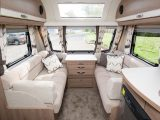 The Capiro 550's interior colour scheme is restful yet contemporary