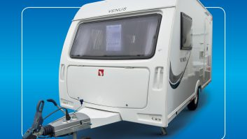 Venus caravans provide lightweight touring with a decent specification – and the 2014-season models were on BPW chassis