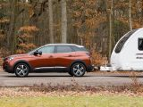 The Peugeot 3008's kerbweight is 1375kg, including 75kg for the driver