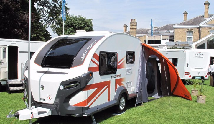 The Swift Basecamp has proved a popular newcomer to the portfolio