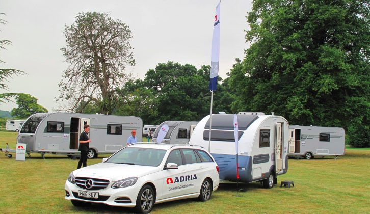 We check out the new-for-2018 range of Adria caravans in our new issue