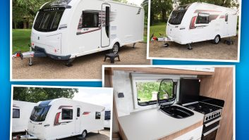 It's nip and tuck for the 2018-season range from Coachman Caravans – plus one new model!