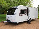 A new aerodynamic bodyshell and graphics are just two improvements to the Coachman VIP range for the 2018 season