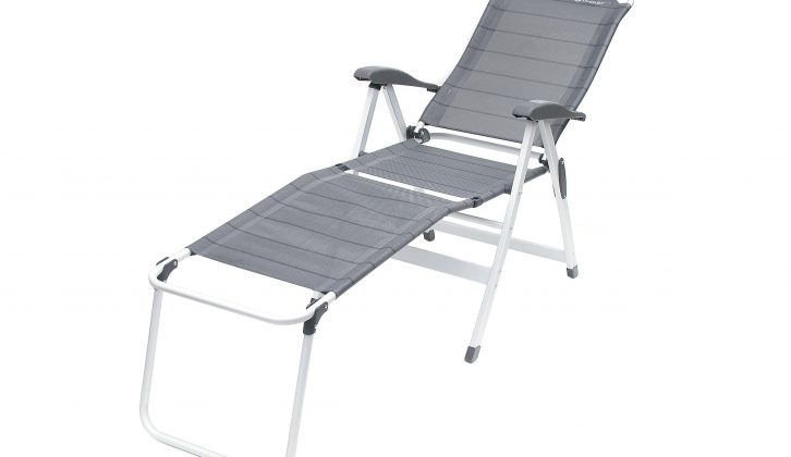 The Outwell Melville Chair was one of the lowest-rated camping chairs in our group test
