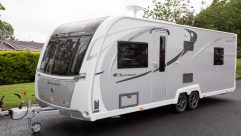 There are new graphics for the 2018-season range of Buccaneer caravans