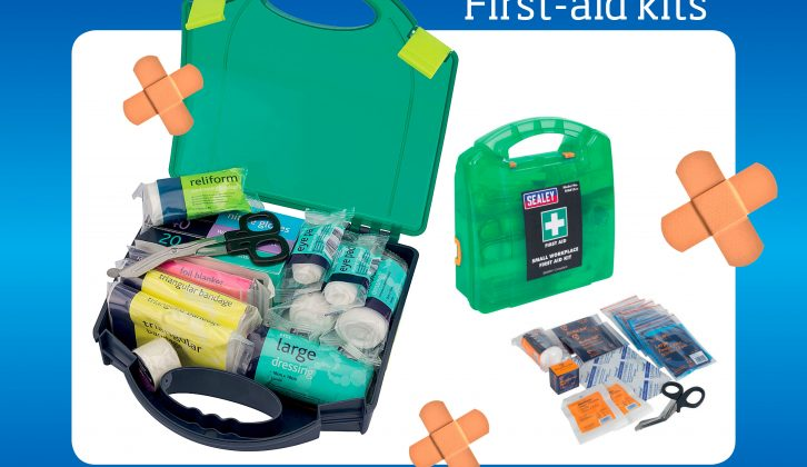 First aid kits aren't just useful, in some countries they are mandatory – find out what makes a good one!