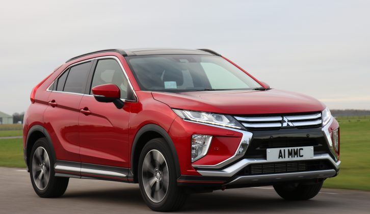 The new Mitsubishi Eclipse Cross is priced from £21,275