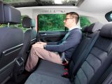 Passengers will be happy with the space – the VW Tiguan's clever rear seats slide to favour legroom or to boost luggage capacity