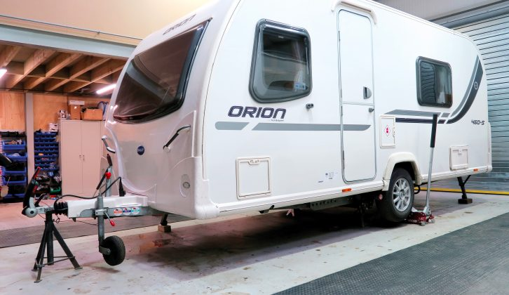One option is to take your caravan to an approved workshop to be serviced