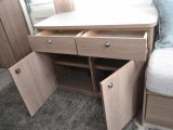 There's also a handy amount of storage in the Compass Casita 462's sideboard