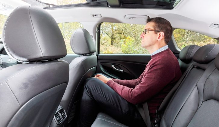 Legroom in the back is not as generous as you would expect to find in some rivals, such as the Škoda Octavia