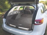 Loadspace in the boot extends to 1665 litres when the back seats are lowered, albeit with a slight slope to the floor