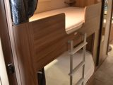 Fixed bunks on the 655 make it a roomy family caravan