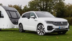 Two diesel Touareg models are currently available; either version should appeal to caravanners