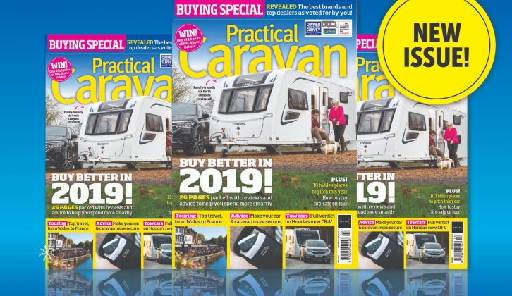 The March issue of Practical Caravan magazine is on sale now!