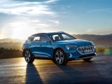 The Audi e-tron has a kerb weight of well over two tonnes, and a legal maximum of 1800kg