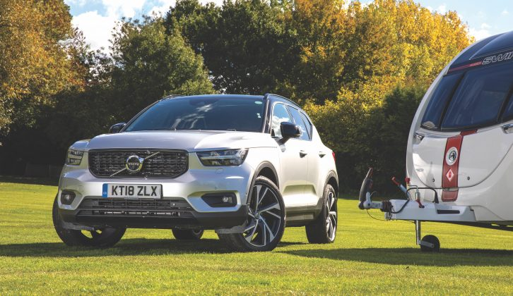 Reach your campsite, and you'll find the Volvo easy to manoeuvre