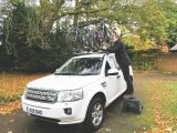 It can be challenging to lift bikes onto the roof, particularly if you have a 4x4 or MPV