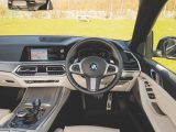 There are no conventional dials, but there is a high-resolution screen instead, and there are paddles behind the steering wheel for changing gear, but we rarely felt the need to use them