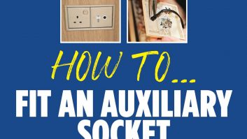 Follow our step-by-step guide to fitting an auxiliary socket in your caravan