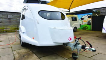 Aerodynamic profile helps to make the Go_pod very economical to tow
