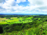 The panoramic views from Sutton Bank are spectacular